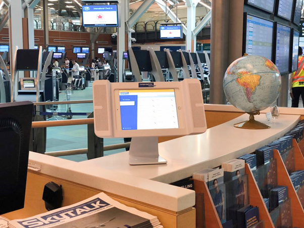 Video Interpreting Vancouver Airport